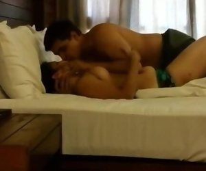 Desi couple Honeymoon hotel