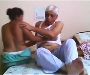 Desi Maid Bitchy Hard By Old..